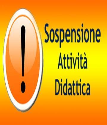 SOSPENSIONE ATTIVITÀ SCOLASTICA ON LINE DAL 9 AL 15 APRILE COMPRESO.